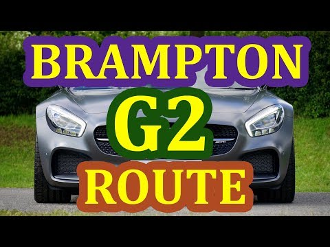 Brampton G2 (G1 Exit) Driver's Test Route – Pass Your G2 Exam On 1st Attempt – Step By Step Guide