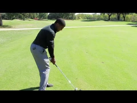Drills for Keeping Your Head Down During Golf Swings : Golf Tips