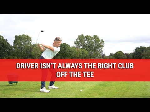 Driver Isn't Always The Right Club Off The Tee – Golf Course Strategy – DWG