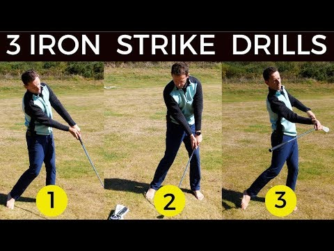 3 MUST DO'S WITH YOUR IRONS – so important for your ball striking