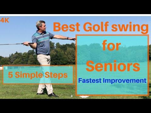 Best golf swing for Seniors