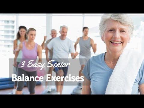 3 Easy Balance Exercises for Seniors