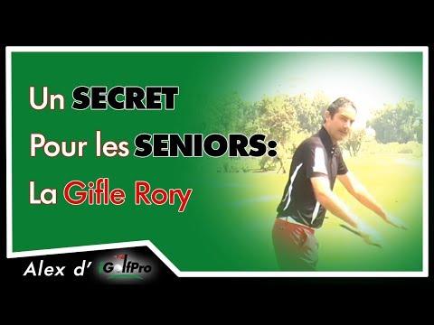 Un secret de golf sur la puissance pour les seniors: la gifle RORY