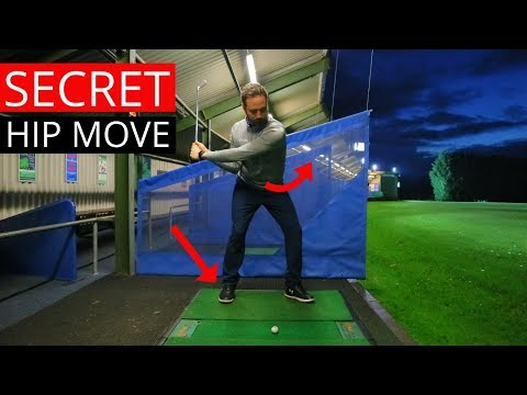 HOW TO GET THE PERFECT HIP ROTATION IN THE DOWNSWING