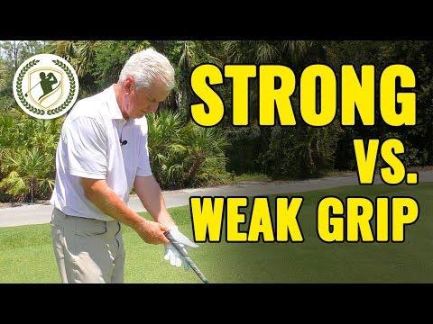 Two Golf Grips: Strong vs. Weak (THE WINNER!)