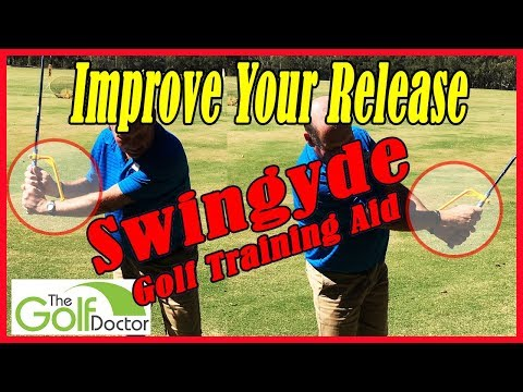 Swingyde Golf Swing Training Aid   How To Use The Swingyde Training Aid