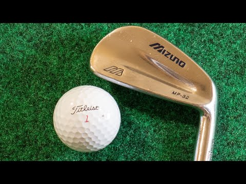 Mizuno MP 32 Irons – Most Beautiful Golf Clubs EVER Episode 03