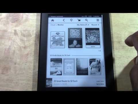 Kindle Paperwhite for Beginners | H2TechVideos