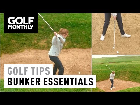 How To Play Greenside Bunker Shots I Women's Golf Tips I Golf Monthly