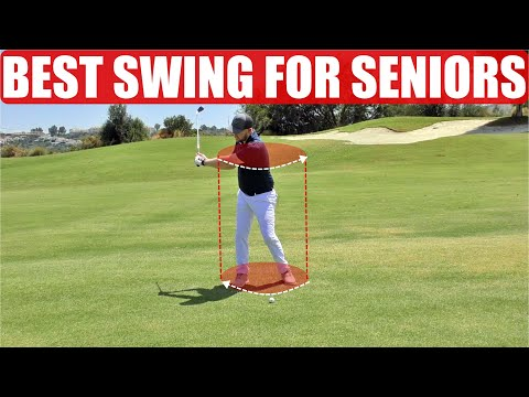 THE BEST GOLF SWING FOR SENIOR GOLFERS – SIMPLE DRILL