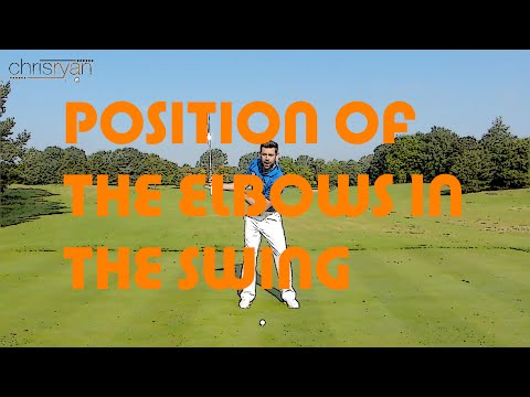 ELBOW POSITION IN THE GOLF SWING
