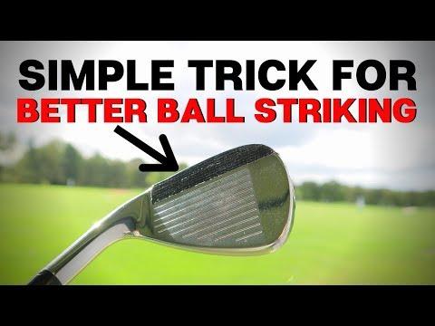 SIMPLE TRICK FOR BETTER BALL STRIKING