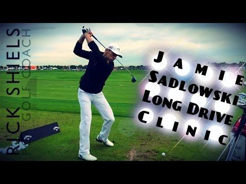 JAMIE SADLOWSKI LONG DRIVE CLINIC (BEHIND THE SCENES)