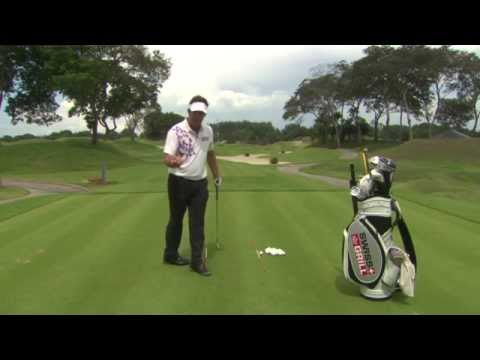 Asian Tour Academy Golf Tips with Scott Barr – Driving range tips