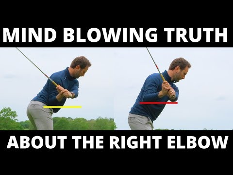 THE MIND BLOWING TRUTH OF THE RIGHT ELBOW IN THE GOLF SWING