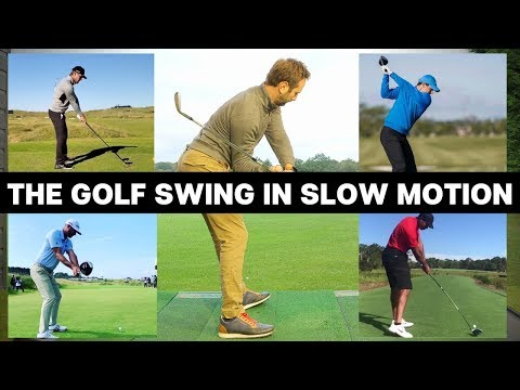 THE MOST IMPORTANT PARTS OF THE GOLF SWING IN SLOW MOTION