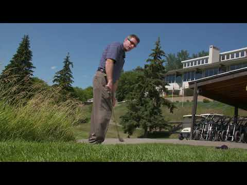 Golf tip: Chipping out of long grass