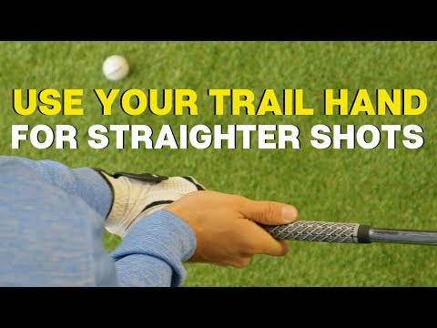 HOW YOUR RIGHT HAND WILL HELP YOU HIT STRAIGHTER SHOTS
