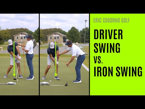 GOLF: Driver Swing Vs. Iron Swing (Differences)