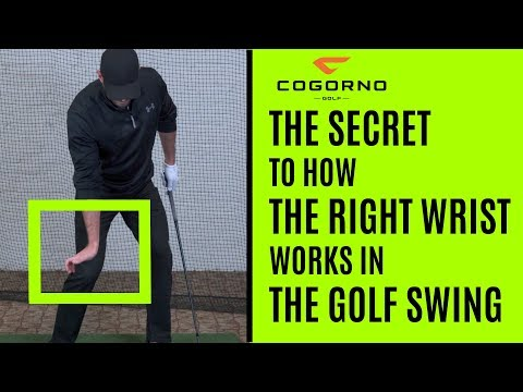 GOLF: The Secret To How The Right Wrist Works In The Golf Swing