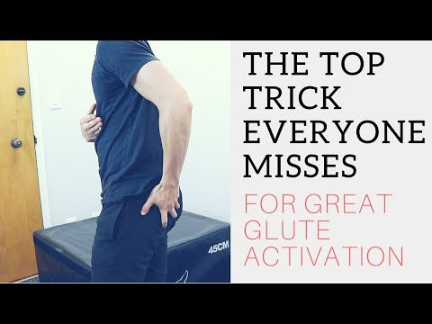 How to activate the glutes – the most overlooked thing you MUST do