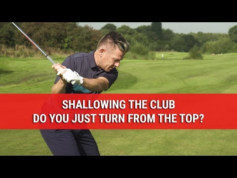 Shallowing The Club – Do You Just Turn From The Top? – DWG Technical Tips