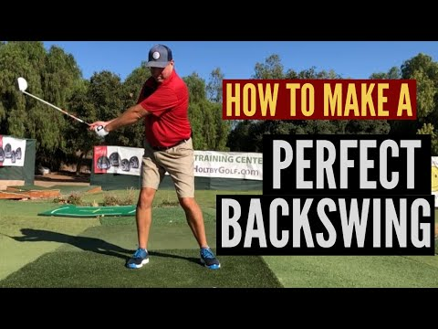 How to Make a Perfect Golf Backswing