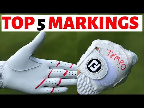 TOP 5  WORDS TO PUT ON YOUR GOLF GLOVE – GOLFMATES