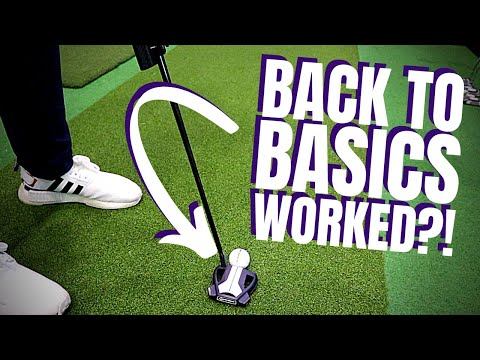 BACK TO BASICS WORKED! Putting Lesson From a Tour Coach!!!