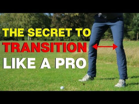 THE SECRET TO TRANSITION LIKE A PROFESSIONAL IN THE GOLF SWING