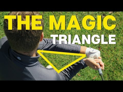 HOW TO GET THE MAGIC TRIANGLE IN YOUR GOLF SWING