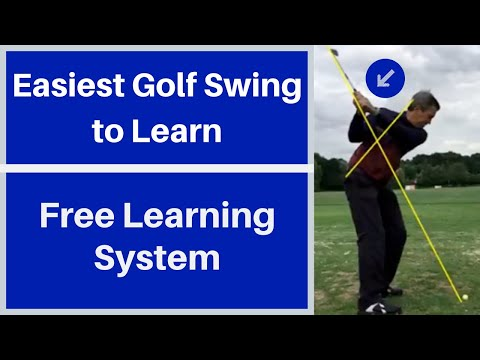 Easiest Golf swing to learn.