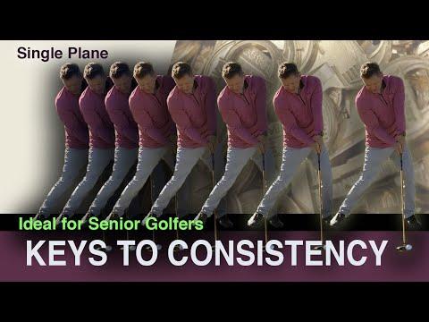 Consistent Golf Swing for Seniors