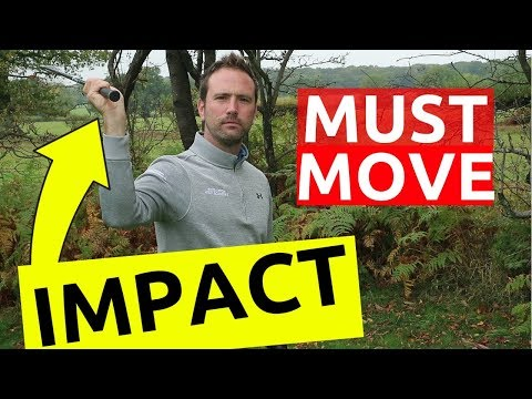 How correct WRIST HINGE in golf swing gives PERFECT impact