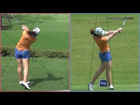 [Slow HD] LEE Mi-Rim 2012 Driver Golf Swing Dual View_KLPGA Tour (4).mp4