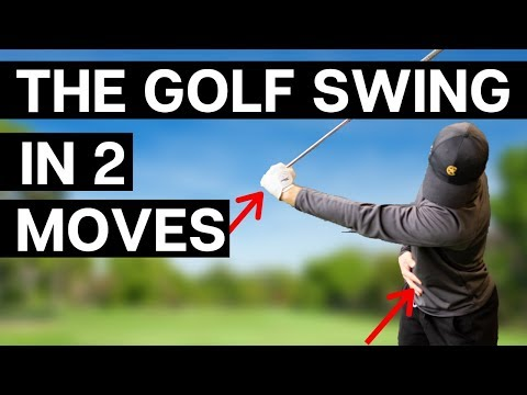 THE GOLF SWING IN 2 MOVES