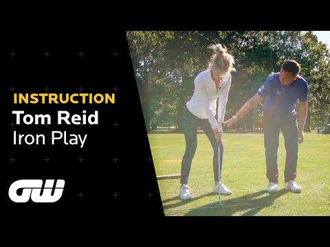 One Simple Drill For Crisper Iron Shots   Tom Reid Golf Tips   Golfing World