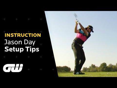 Jason Day's Swing Secrets | Golf Stance Tips | Instruction | Golfing World