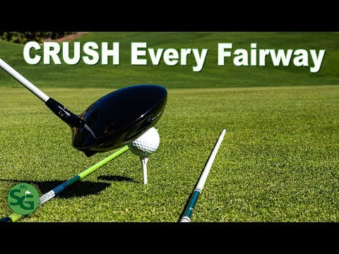 How to Hit More Fairways with your Driver | Golf Drill for Straight Drives!