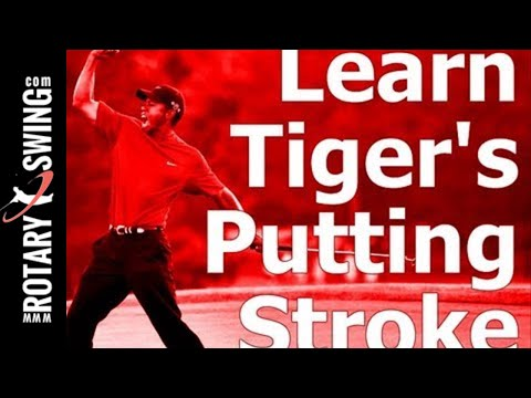 Learn Tiger Woods Putting Stroke: How to Lag and Release the Putter