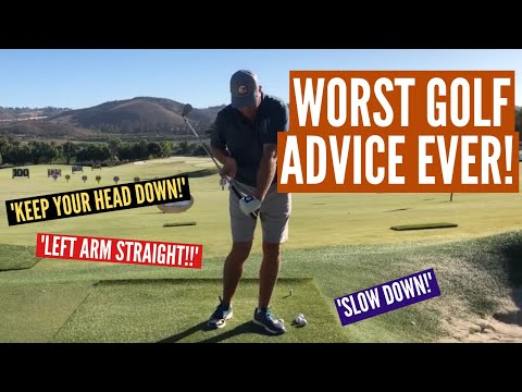 The 4 Worst Pieces of Golf Advice Ever!