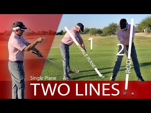 The Two-Lines of the Single Plane Swing