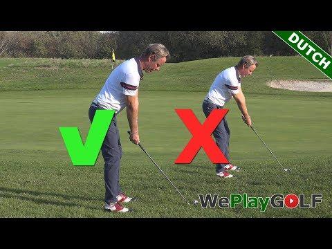 Golf tip: De correcte houding en bal positie voor een ijzer 7