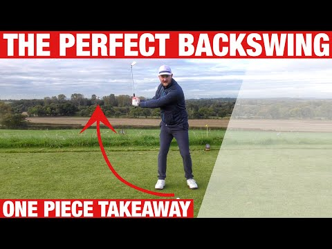 THE PERFECT BACKSWING FOR A BETTER GOLF SWING – SIMPLE GOLF DRILL