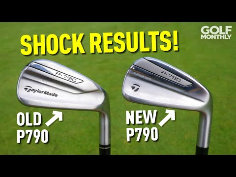 New TaylorMade P790 Iron Vs Old P790 SHOCK RESULT! Golf Monthly