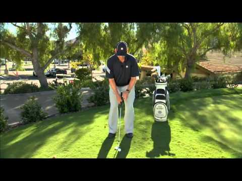 Golf Short Game A Soft Bent left Arm is Needed in the Short Game