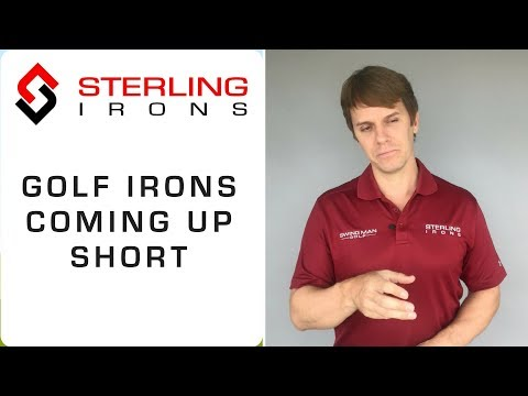 Are Your Golf Irons Coming Up Short?