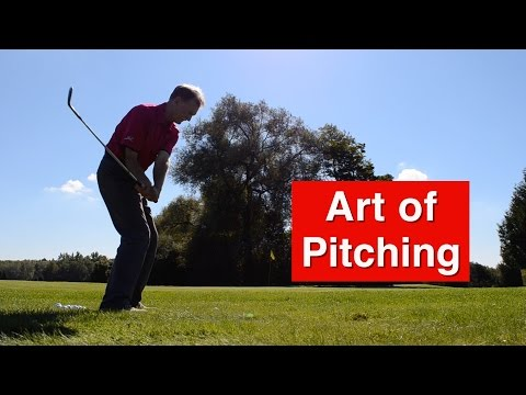 Pitching in Golf