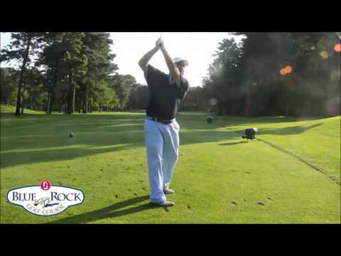 Blue Rock Golf Course Golf Tips – Swing Around Not Up