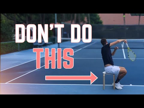 Learn the Real Kick Serve Swing Path